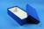 ALPHA Box 75 lang2 / 1x1 ohne Facheinteilung, blau, Höhe 75 mm, Karton...