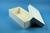 ALPHA Box 75 lang2 / 1x1 ohne Facheinteilung, weiss, Höhe 75 mm, Karton...