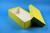 ALPHA Box 75 lang2 / 1x1 ohne Facheinteilung, gelb, Höhe 75 mm, Karton...