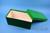 ALPHA Box 130 lang2 / 1x1 ohne Facheinteilung, grün, Höhe 130 mm, Karton...