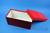 ALPHA Box 130 lang2 / 1x1 ohne Facheinteilung, rot, Höhe 130 mm, Karton...