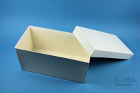 ALPHA Box 130 long2 / 1x1 without divider, white, height 130 mm, fiberboard...