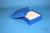 BRAVO Box 50 / 1x1 ohne Facheinteilung, blau, Höhe 50 mm, Karton standard....