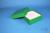 BRAVO Box 50 / 1x1 ohne Facheinteilung, grün, Höhe 50 mm, Karton standard....