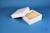 BRAVO Box 50 / 1x1 ohne Facheinteilung, weiss, Höhe 50 mm, Karton standard....