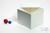 BRAVO Box 130 / 1x1 ohne Facheinteilung, weiss, Höhe 130 mm, Karton standard....
