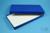 BRAVO Box 25 lang2 / 1x1 ohne Facheinteilung, blau, Höhe 25 mm, Karton...
