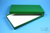BRAVO Box 25 lang2 / 1x1 ohne Facheinteilung, grün, Höhe 25 mm, Karton...