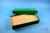 BRAVO Box 50 lang2 / 10x20 Fächer, grün, Höhe 50 mm, Karton standard. BRAVO...