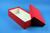 BRAVO Box 75 lang2 / 1x1 ohne Facheinteilung, rot, Höhe 75 mm, Karton...