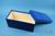 BRAVO Box 130 lang2 / 1x1 ohne Facheinteilung, blau, Höhe 130 mm, Karton...