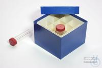 CellBox Maxi / 4x4 divider, blue, height 128 mm, fiberboard standard. CellBox...