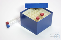 CellBox Maxi / 6x6 divider, blue, height 128 mm, fiberboard standard. CellBox...
