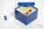 CellBox Maxi / 6x6 Fächer, blau, Höhe 128 mm, Karton standard. CellBox Maxi /...