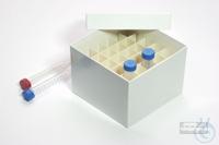 CellBox Maxi / 6x6 divider, white, height 128 mm, fiberboard standard....