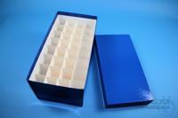 CellBox Maxi long / 4x8 divider, blue, height 128 mm, fiberboard standard....