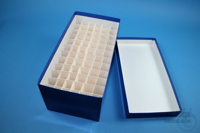 CellBox Maxi long / 6x12 divider, blue, height 128 mm, fiberboard standard....