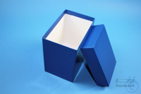 CellBox Maxi long / 1x1 without divider, blue, height 128 mm, fiberboard...