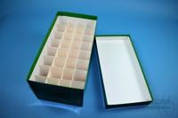 CellBox Maxi long / 4x8 divider, green, height 128 mm, fiberboard standard....