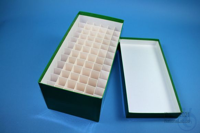 CellBox Maxi long / 6x12 divider, green, height 128 mm, fiberboard standard....