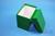 CellBox Maxi lang / 1x1 ohne Facheinteilung, grün, Höhe 128 mm, Karton...