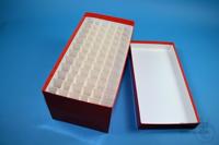 CellBox Maxi long / 6x12 divider, red, height 128 mm, fiberboard standard....