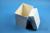 CellBox Maxi lang / 1x1 ohne Facheinteilung, weiss, Höhe 128 mm, Karton...