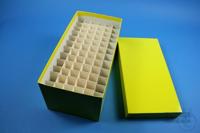 CellBox Maxi long / 6x12 divider, yellow, height 128 mm, fiberboard standard....
