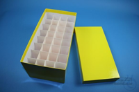 CellBox Maxi long / 4x8 divider, yellow, height 128 mm, fiberboard special....