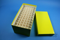 CellBox Maxi long / 6x12 divider, yellow, height 128 mm, fiberboard special....