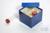 CellBox Mini / 3x3 Fächer, blau, Höhe 128 mm, Karton standard. CellBox Mini /...