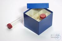CellBox Mini / 3x3 divider, blue, height 128 mm, fiberboard special. CellBox...