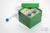 CellBox Mini / 5x5 Fächer, grün, Höhe 128 mm, Karton standard. CellBox Mini /...