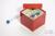 CellBox Mini / 5x5 Fächer, rot, Höhe 128 mm, Karton spezial. CellBox Mini /...