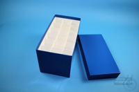 CellBox Mini long / 3x6 divider, blue, height 128 mm, fiberboard special....