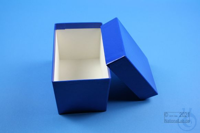 CellBox Mini long / 1x1 without divider, blue, height 128 mm, fiberboard...