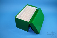 CellBox Mini long / 5x10 divider, green, height 128 mm, fiberboard special....