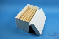 CellBox Mini long / 5x10 divider, white, height 128 mm, fiberboard standard....