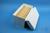 CellBox Mini lang / 5x10 Fächer, weiss, Höhe 128 mm, Karton standard. CellBox...
