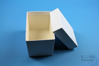 CellBox Mini long / 1x1 without divider, white, height 128 mm, fiberboard...