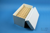 CellBox Mini lang / 5x10 Fächer, weiss, Höhe 128 mm, Karton spezial. CellBox...