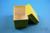 CellBox Mini lang / 1x1 ohne Facheinteilung, gelb, Höhe 128 mm, Karton...