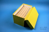 CellBox Mini long / 5x10 divider, yellow, height 128 mm, fiberboard special....
