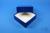 DELTA Box 50 / 1x1 ohne Facheinteilung, blau, Höhe 50 mm, Karton standard....