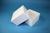 DELTA Box 75 / 1x1 ohne Facheinteilung, weiss, Höhe 75 mm, Karton standard....