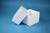 DELTA Box 100 / 1x1 ohne Facheinteilung, weiss, Höhe 100 mm, Karton standard....