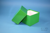 DELTA Box 130 / 1x1 ohne Facheinteilung, grün, Höhe 130 mm, Karton spezial....