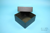 EPPi® Box 102 / 1x1 ohne Facheinteilung, black/black, Höhe 102 mm fix, ohne...