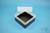 EPPi® Box 102 / 1x1 ohne Facheinteilung, schwarz, Höhe 102 mm fix, ohne...
