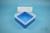 EPPi® Box 102 / 1x1 ohne Facheinteilung, blau, Höhe 102 mm fix, ohne...